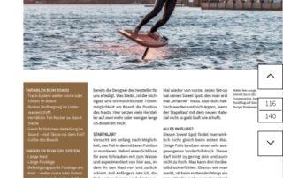 Bericht von Malte Krummradt Wingfoilen